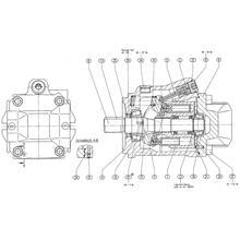Гидронасос Bosch Rexroth A10VO