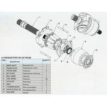 Гидронасос Bosch Rexroth A11VO