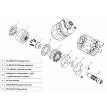 Гидромотор Hitachi HMT 36
