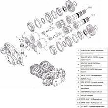 Гидромотор Hitachi HPV091E