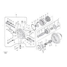 Гидромотор Kawasaki GM