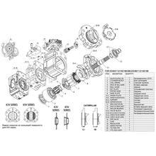 Гидронасос Kawasaki K3V