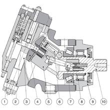 Гидромотор Parker V12